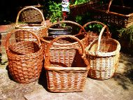 willow shopping baskets